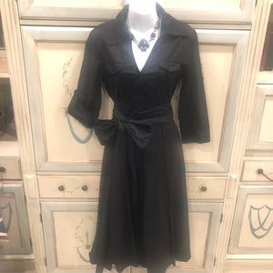 AMAZING wrap shirt dress Christina Jacobs M